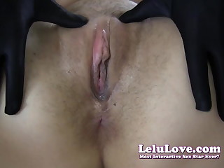 Lelu Love-Gloves Choker Serving-girl Cheating Creampie (Pt. 2)
