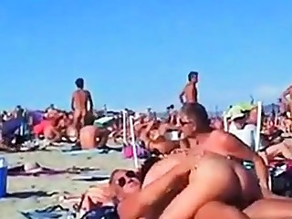 Amateur, Beach, European, Swingers, Voyeur