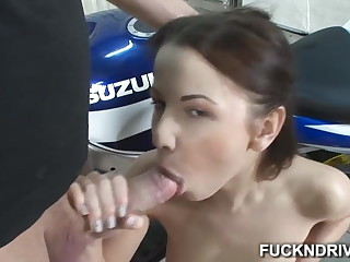 Girl that loves anal get a dick in her tight aggravation hole