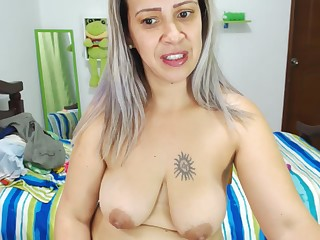 Colombian Mother I´d Like To Have Making love With Big Tits (44) Dildong Her Breech - FORNICATE Peel