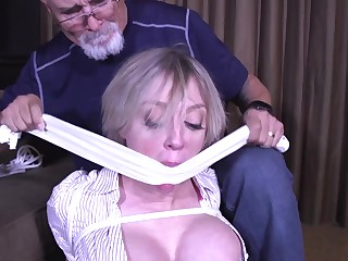 Kinky Mature Occupied with Servitude Fun - MILF bdsm