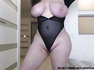 Cuddly Bitch With Big Tits - webcam MILF