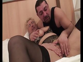 Hungarian Granny Sila - mature connected down lingerie connected down homemade porn down cumshot