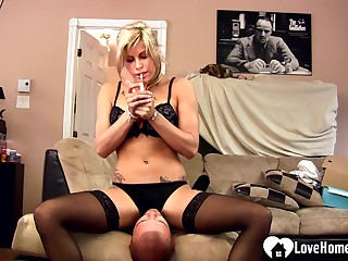 mature loves to dominate her fervidness stepson