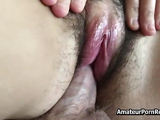 Fucks Hairy Amateur Mature Wife Outside House