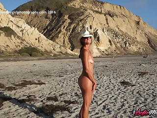 SofieMarieXXX - Irresistible Sofie Marie Teases On The Beach