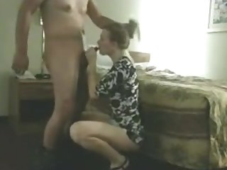 Tall Blonde Giving Blowjob And Fucked By Her Hubby