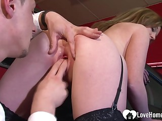 Office whore seeks a circular all over their way snatch