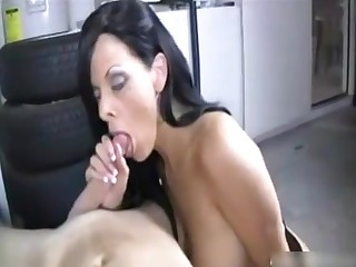 Arianna Labarbara fucks in public Laundry