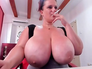 Successful breast mammy on webcam - hot unskilled porn