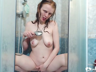 Amazing mommy gets naked and masturbates passionately