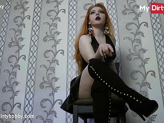 MyDirtyHobby - No Nut November instant fail connected with sexy redhead