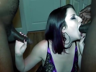 Interracial Hot Scene with Amateur Girl