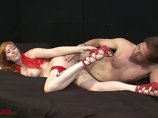 Artistic sex is spectacular with seasoned ginger Lauren Phillips